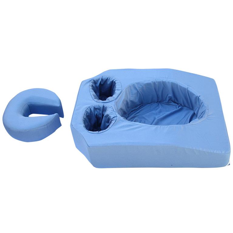 coussin femmes enceintes bleu chirokidshop. Black Bedroom Furniture Sets. Home Design Ideas